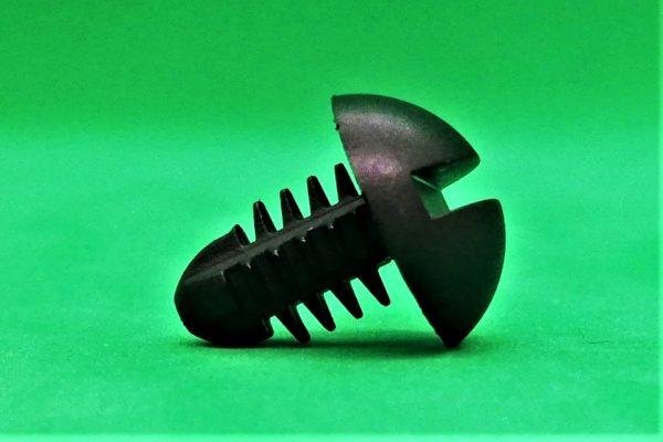 Sujetador De Nylon Giratorio Cabeza Redonda - Ranurada Slotted Round Head Spin Clip