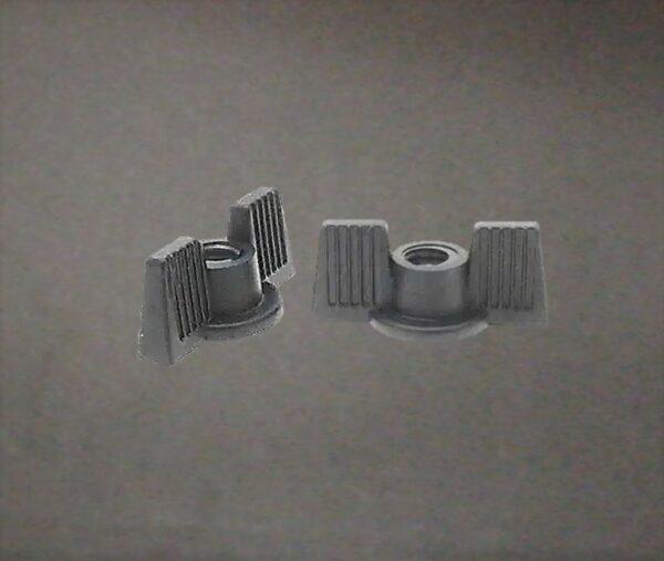 Tuerca Mariposa Decorativa / Inaflojable - Nylon Locking Decorative Wing Nut